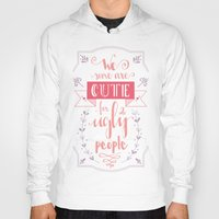 lettering Hoodies featuring Lettering - Juno by aysenur