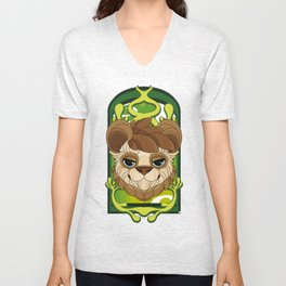 Noon Stained Glass Unisex V-Neck