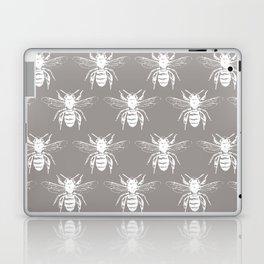 The Bee's Knees Taupe Laptop & iPad Skin