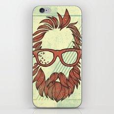 Beard and Shades iPhone & iPod Skin