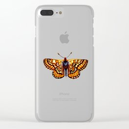 Tiger Stripes Clear iPhone Case