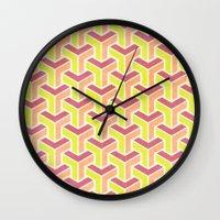 arrows Wall Clocks featuring Arrows by Zeke Tucker