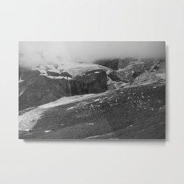 Shrouded Glacier Metal Print