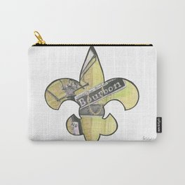 Fleur De Lis Bourbon Street Carry-All Pouch