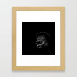 Miles (Prince Of Darkness) - Jazz Musician Framed Art Print