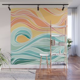 Sea and Sky II Wall Mural