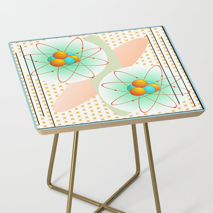 Mid-Century Modern Art Atomic 1.0 Side Table