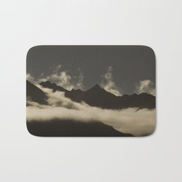 up in the mountains, down on my mind Bath Mat