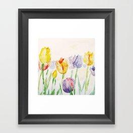 Spring flowers  Framed Art Print