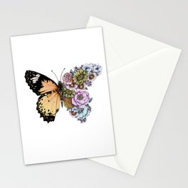 Butterfly in Bloom II Stationery Cards