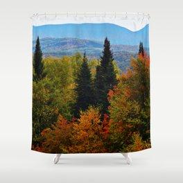 Mont Albert From Afar Shower Curtain