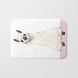 hi! Llama Bath Mat