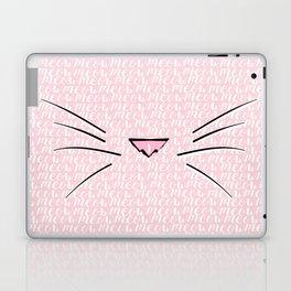 Crazy Cat Lady (Meow Meow Meow Pattern) Laptop & iPad Skin