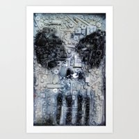punisher Art Prints featuring THE PUNISHER by JANUARY FROST
