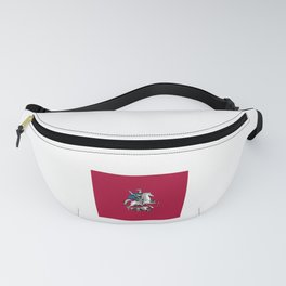 Flag of moscow Fanny Pack