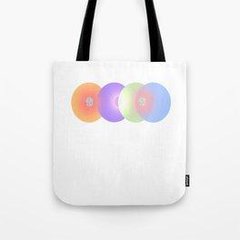 4 Globes Tote Bag