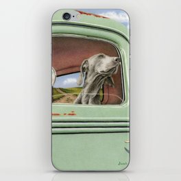 Goin' For A Ride iPhone Skin