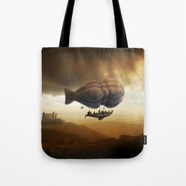 Endless Journey - steampunk artwork Tote Bag