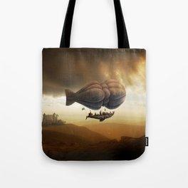 Endless Journey - steampunk artwork Tote Bag