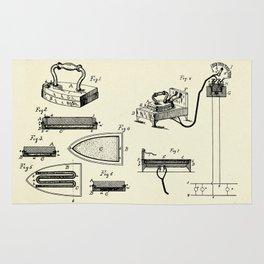 Electric Flat Iron-1883 Rug