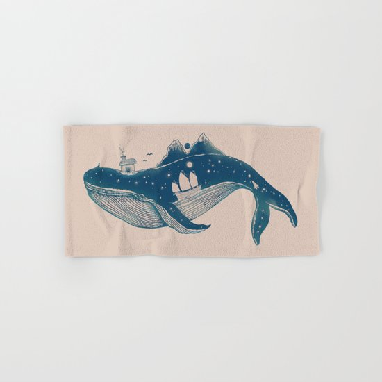 Home (A Whale from Home) Hand & Bath Towel