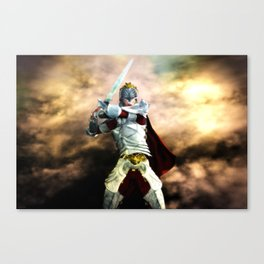 Soldier Of The God Canvas Print