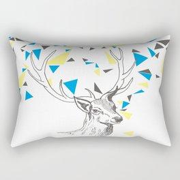 Rainbow Collection / deer Rectangular Pillow