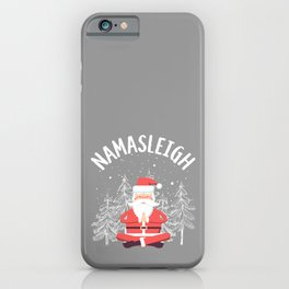 Namasleigh Snowy Trees iPhone Case