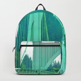 St. Johns Bridge Portland Oregon Backpack