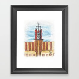 """""""First"""" - St. Paul landmark Framed Art Print"""
