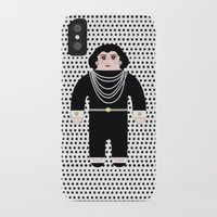coco iPhone & iPod Cases featuring Coco by Late Greats by Chen Reichert