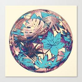 floral ball 2 Canvas Print