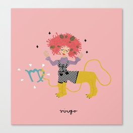 virgo Canvas Print