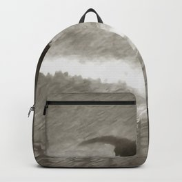 Stealth And Surprise Of The Night Owl Backpack