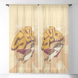 Super Sloth Sheer Curtain