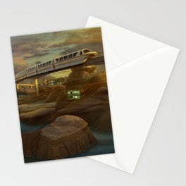 fanstatic river Stationery Cards