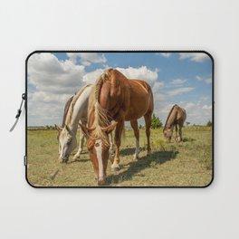 Horses In The Wild Laptop Sleeve