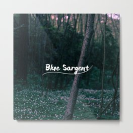 Blue Sargent Metal Print