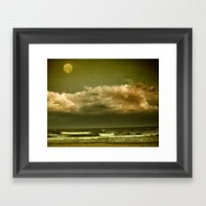 Alien Shore Framed Art Print