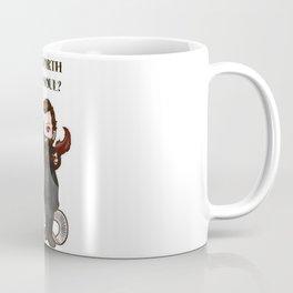 Is It Worth Your Soul? Crowley SPN  Coffee Mug