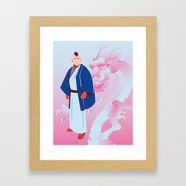 Fusawashii Framed Art Print