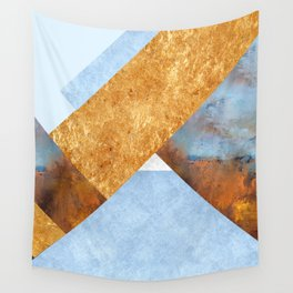 Modern Mountain No5-P3 Wall Tapestry