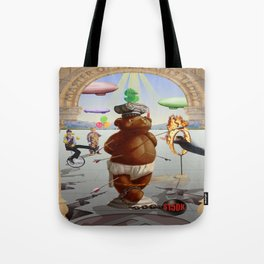 Master of Fine Arts Teddy Tote Bag