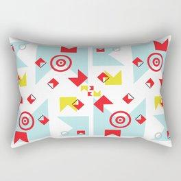 time (line) Rectangular Pillow