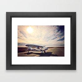 Waiting on Sunset Framed Art Print