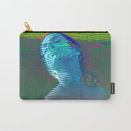 Psychedelic Woman Carry-All Pouch
