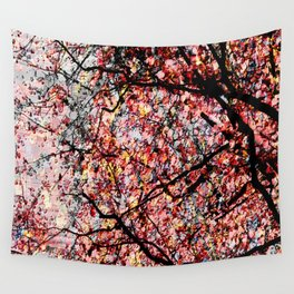 Abstract autumn Wall Tapestry