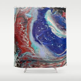 """""""Behind the scenes"""" by Inessa Laurel. Shower Curtain"""