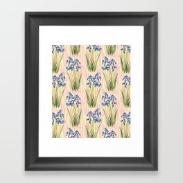 Bluebell Meadow Framed Art Print