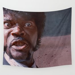 Great Vengeance And Furious Anger - Pulp Fiction Wall Tapestry